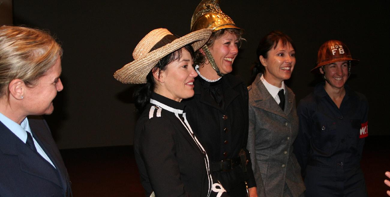 The Amazons First Ladies Fire Brigade, Australia